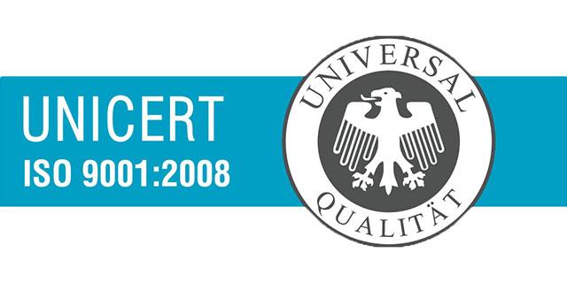 UNICERT ISO 9001-2008